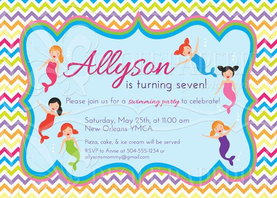 149 best Creole Paperie    In my Etsy shop images on Pinterest - birthday invitation swimming party