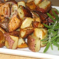 Rode aardappels met rozemarijn uit de oven @ allrecipes.nl