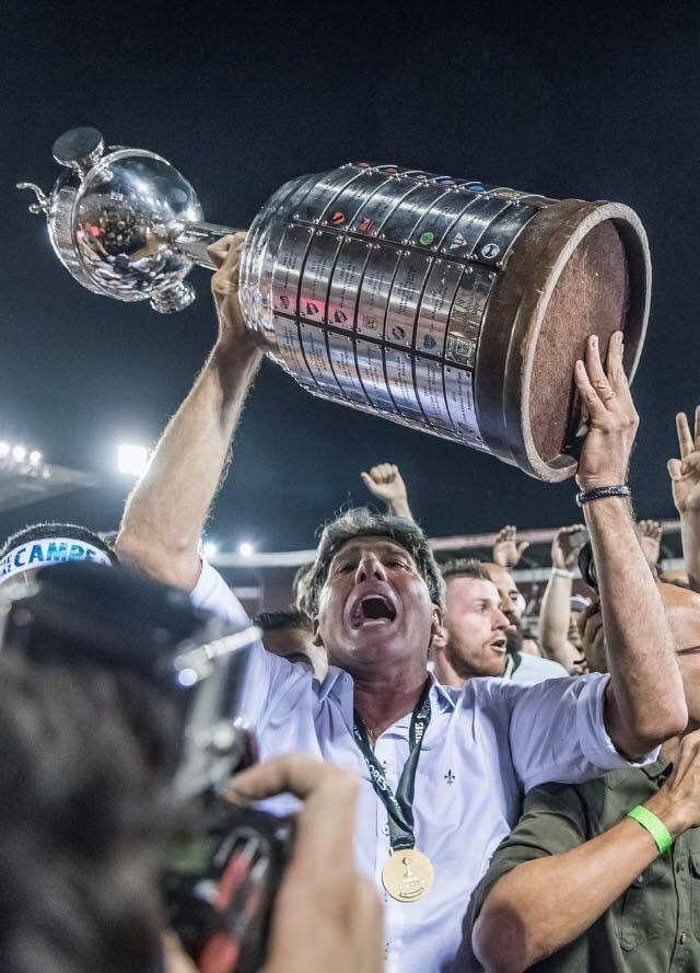 Grêmio tricampeão Libertadores 83-95-17, 29/11/2017