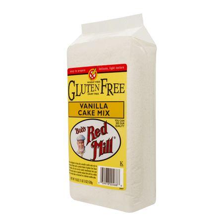 Gluten Free Vanilla Cake Mix :: Bob's Red Mill Natural Foods