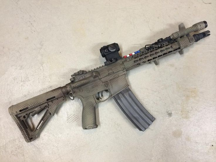 Rattle Can Paint Job Rifle