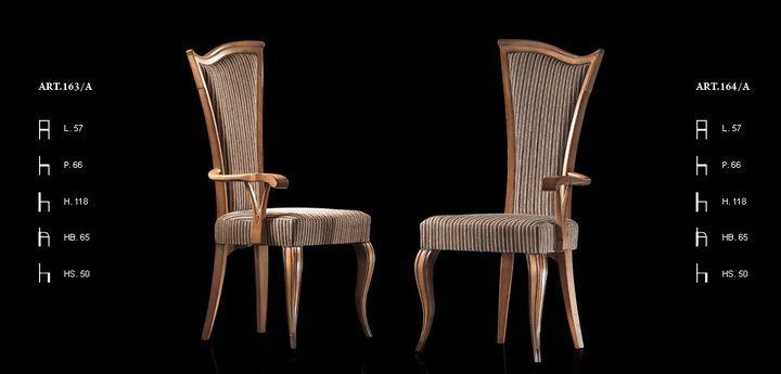 Klasszikus olasz szék 163,164 - www.montegrappamoblili.hu