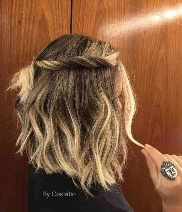 27 Schöne und frische Zopffrisur-Ideen für kurzes Haar