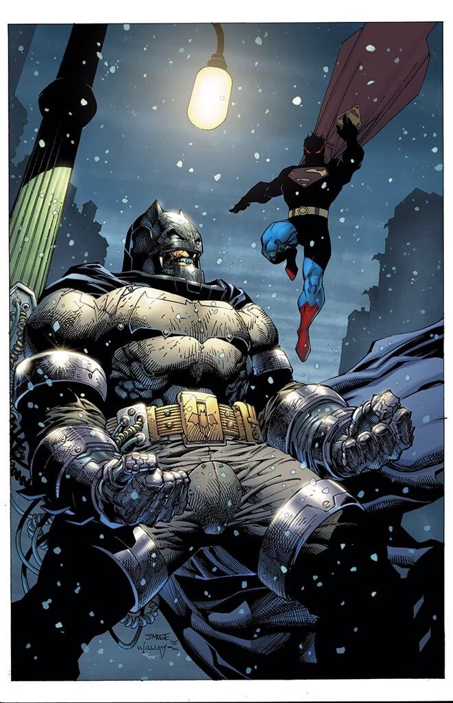 Dark Knight 3 #2 Variant - Jim Lee, Scott Williams, and Alex Sinclair