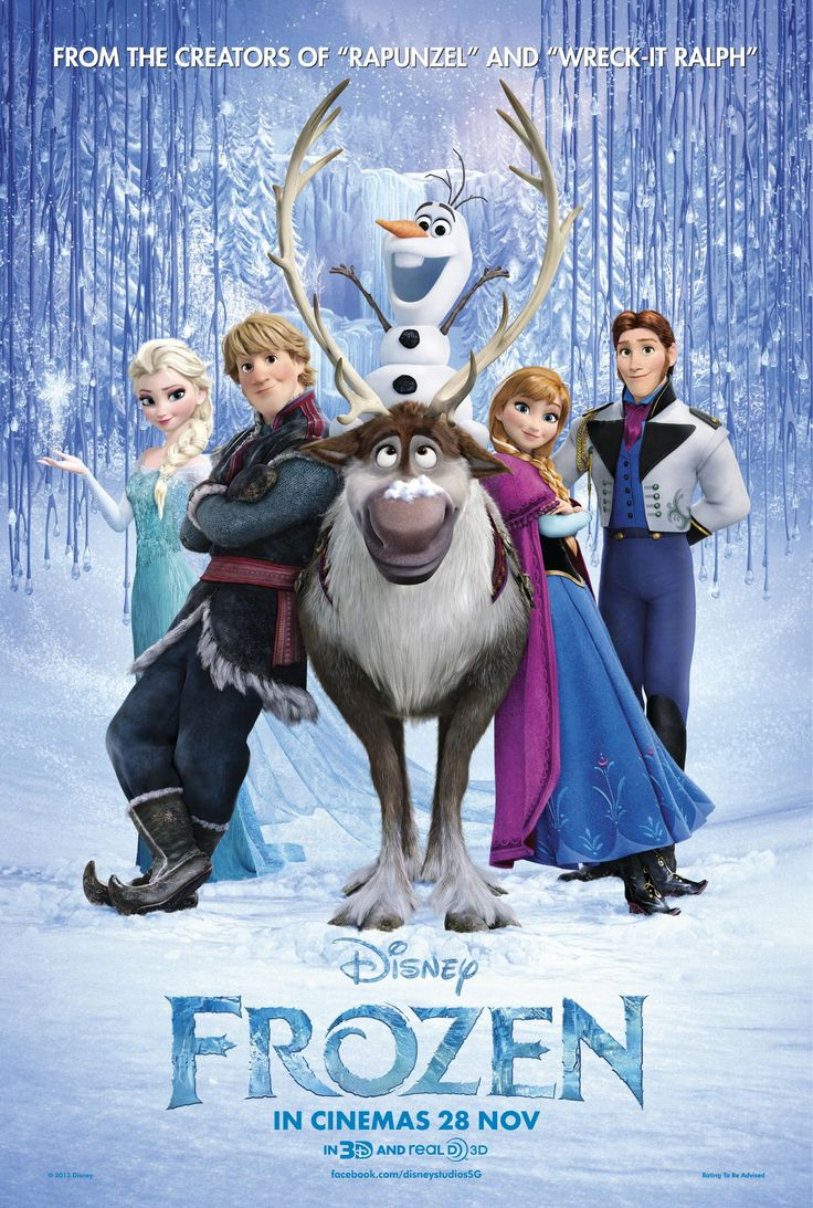 """Frozen. Just loved this new Disney movie! I had """"Let it Go"""" in my head for months!"""