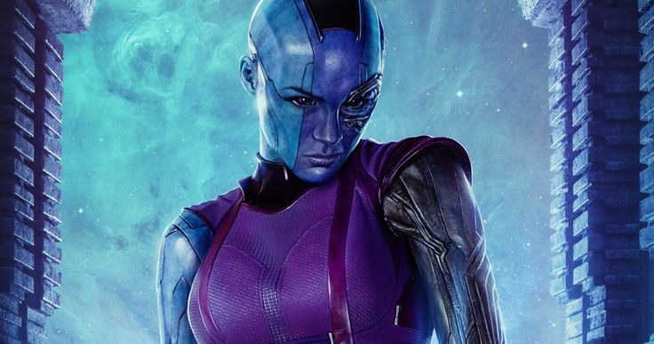 'Guardians of the Galaxy 2' Photo Teases the Return of Nebula -- Karen Gillan sends out a new photo from the set of 'Guardians of the Galaxy 2', teasing her blue-skinned look as Nebula. -- http://movieweb.com/guardians-galaxy-2-photo-nebula-karen-gillan/
