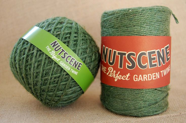 Garden Twine Nutscene ® 'Greentwist' Jute Spools. The spools are more useful than balls!