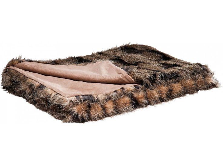 Narzuta Fur Lux — Narzuty i koce — KARE® Design