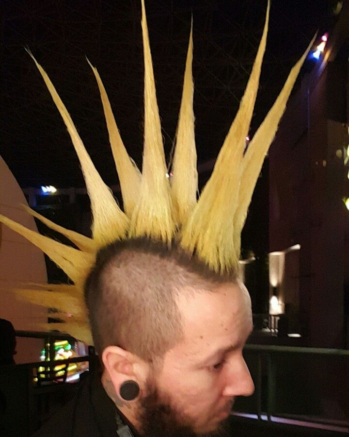 Double liberty spiked mohawk