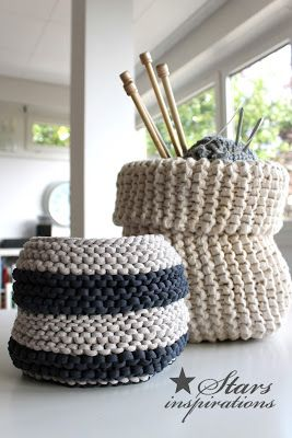 Letter Knitting Patterns : 17 Best ideas about Knit Basket on Pinterest Knitting patterns free, Knitti...