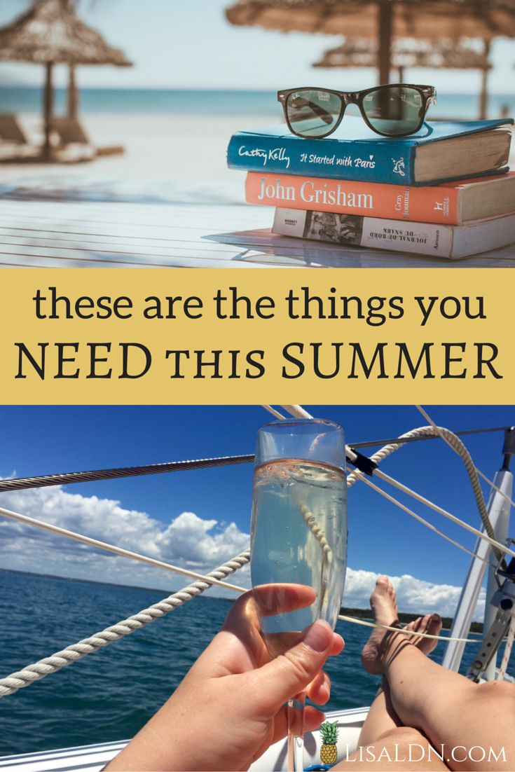 All the things you NEED for a perfect Summer!