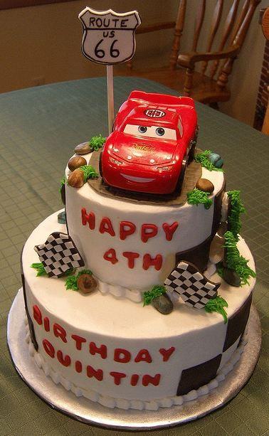 Best Birthday Cake Boys Images On Pinterest Cars Cake Pops