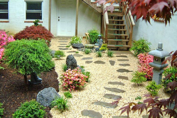 Japanese garden backyard landscape design by lee 39 s for Japanese garden designs