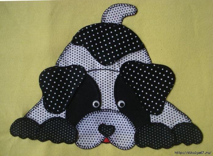 By Larisa Reschetnikova. So cute! Perhaps I can make a pattern to cut on the Scan N Cut.