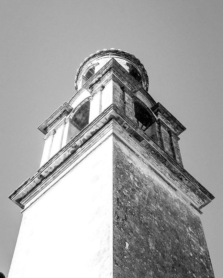 Campanar Iglesia Sant Francesc de Borja  La Carroja Spain 2017 Jordi NN . . . #valldegallinera #lacarroja #Valencia #spain #church #saintfrancis #belltower #bnw #blackandwhite #blackwhitephotography #photography #architecture #jordiNN