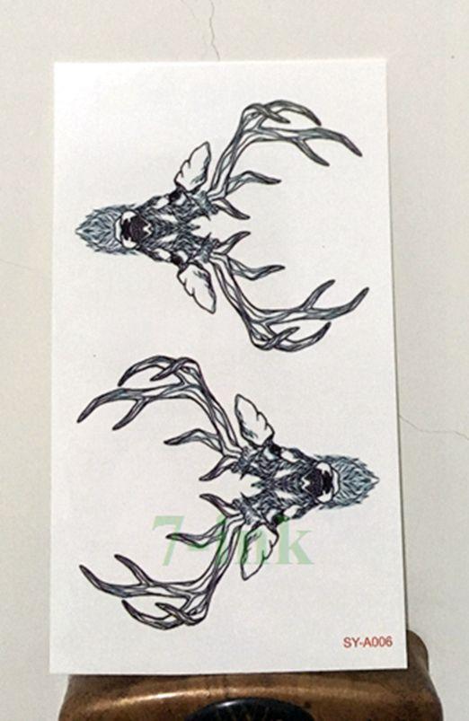 best 25 deer head tattoo ideas on pinterest deer tattoo