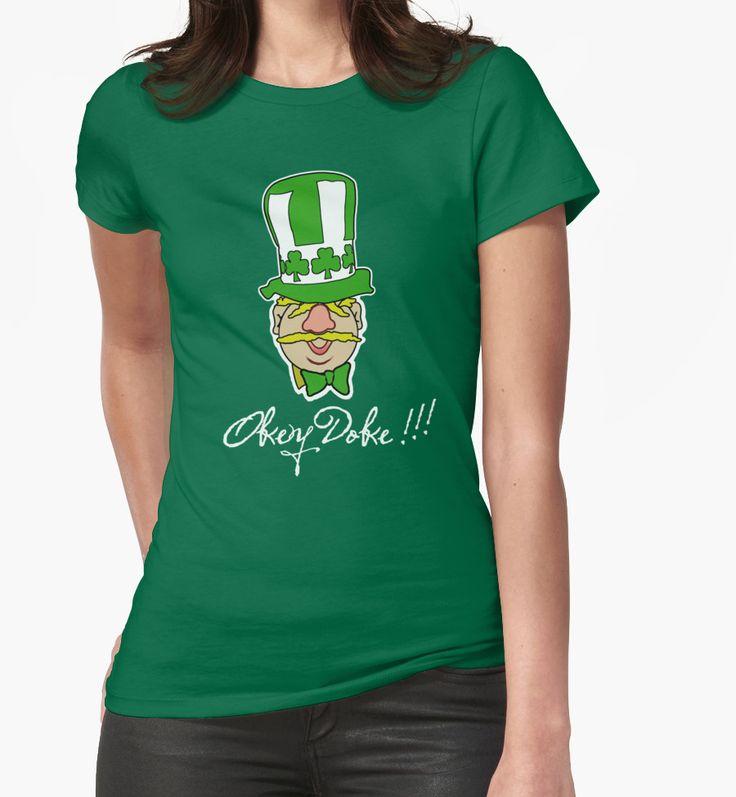 Okey Doke!!! T-shirt from Redbubble. #hat #tee #football #coybig #greenarmy #swedishchef #IRLvSWE #Euro2016 #euros #euros2016 #France2016 #irishfans #okeydoke #green #irishtshirts #funny #ireland #republicofireland