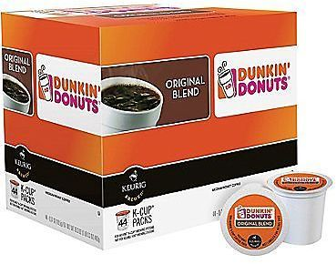 Dunkin' Donuts Keurig K-Cup Pods (44 Pack): Enjoy an authentic Dunkin' Donuts experience with the Dunkin' Donuts Keurig… #coupons #discounts