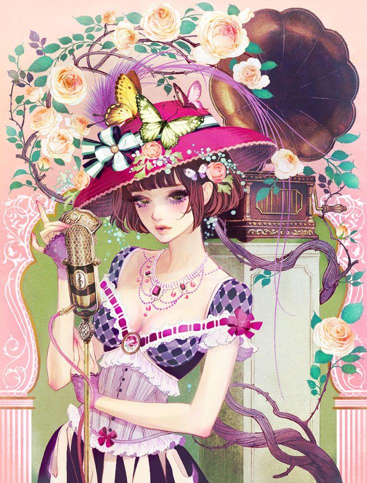 * Art by manga artist Hiromi Matsuo *