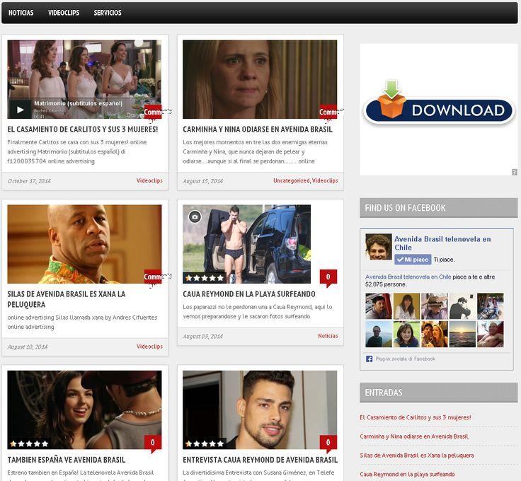 Il sito http://avenida-brasil-telenovela.com/