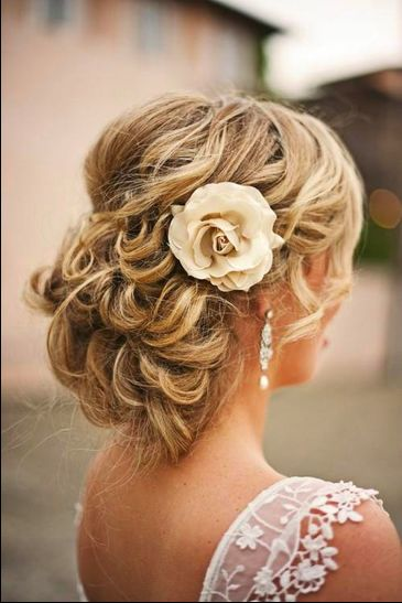 up-do, probably for thick hair like mine...
