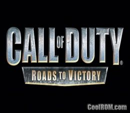 Call of Duty - Roads to Victory (Europe) ROM (ISO) Download for Sony Playstation Portable / PSP - CoolROM.com