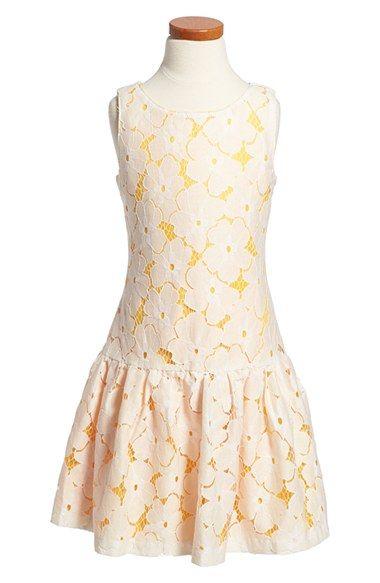 Laundry by Shelli Segal Sleeveless Lace Dress