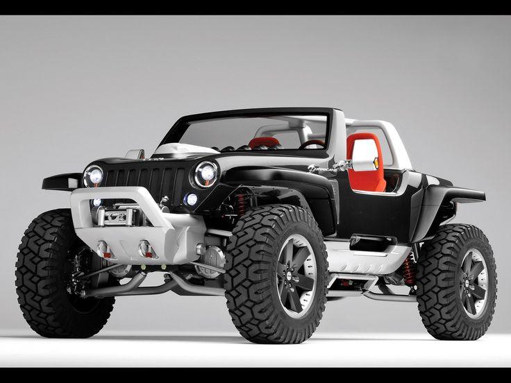 JeepTrucks, 2005 Jeeps, Jeeps Hurricane, Riding, Jeeps Concept, Concept Vehicle, Concept Cars, Dreams Cars, Hurricane Concept