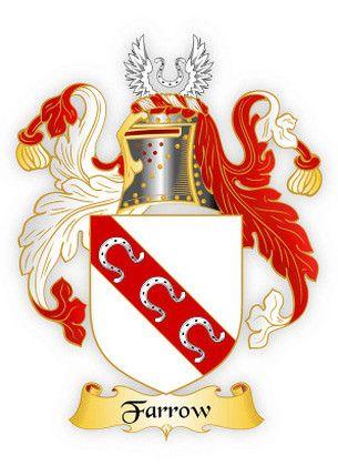 Farrow family crest