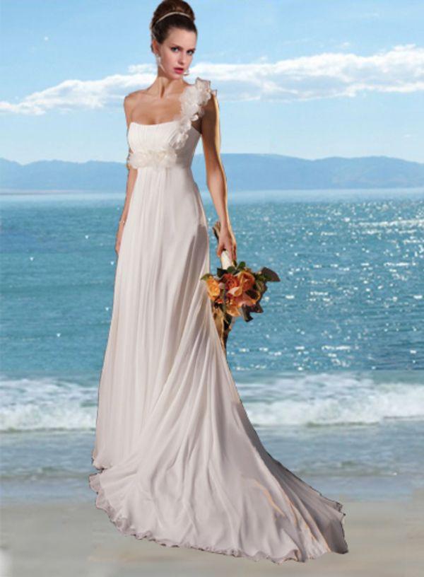 16 best Beach wedding dress images on Pinterest | Short wedding ...