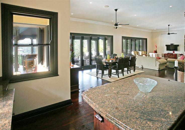 Luxury Villa, Zimbali Coastal Resort, KwaZulu Natal, South Africa. Kitchen Area. #southafricanholiday