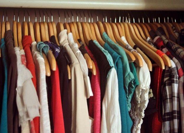 13 Ways To Use Hangers For Multiplying Closet Storage Capacity. Here Are A  Few Ways