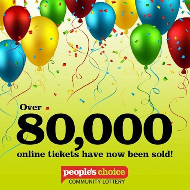 The People's Choice Community Lottery Sells A Record Breaking 80,000 Tickets Online!  We're very excited to inform you that the People's Choice Community Lottery has exceeded their previous record of 80,000 for online ticket sales – and they still have one month to go!  A BIG thank you to everyone who has bought tickets so far!  Click here to learn more... http://adrianbriencars.com.au/blog/5364/the-peoples-choice-community-lottery-sells-a-record-breaking-80000-tickets-online/