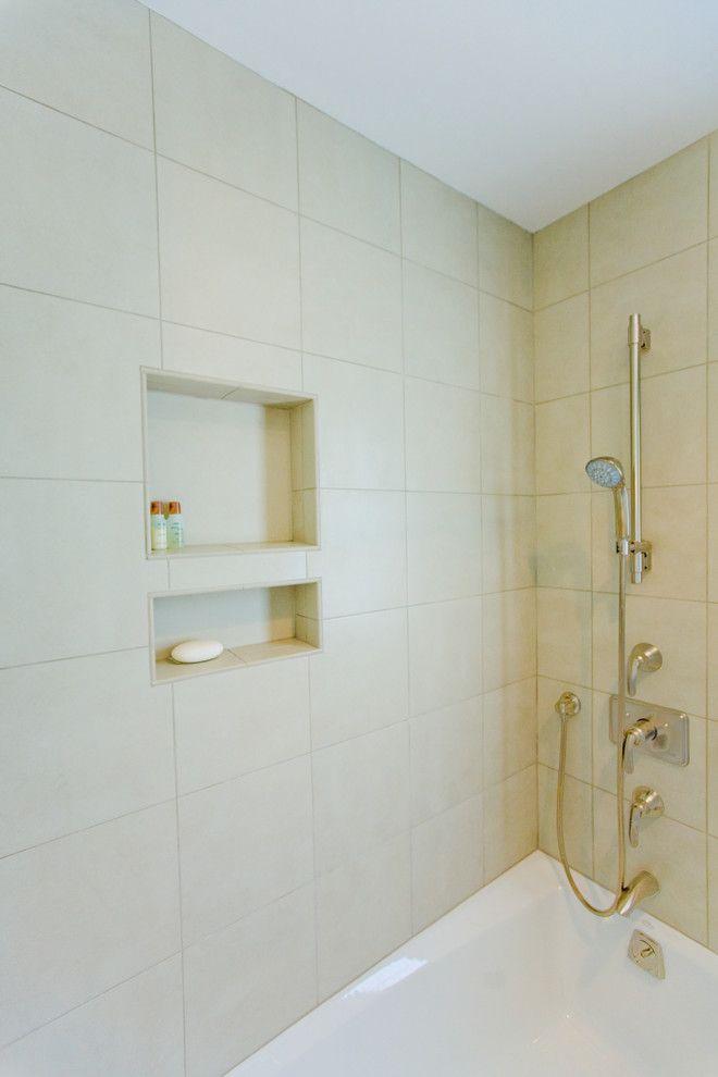 shower niche ideas bathroom contemporary with niche shower over bath