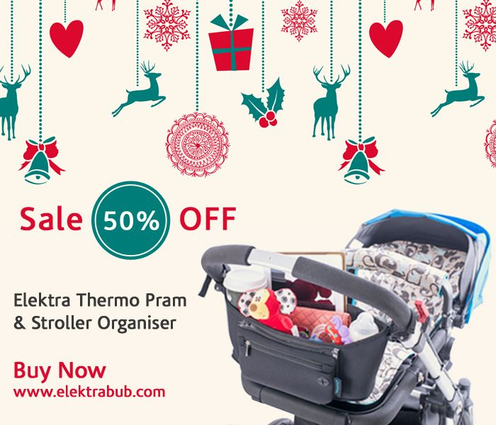 50% Off All Thermo Pram Organisers & Gift Wrapping - a necessity for any pram