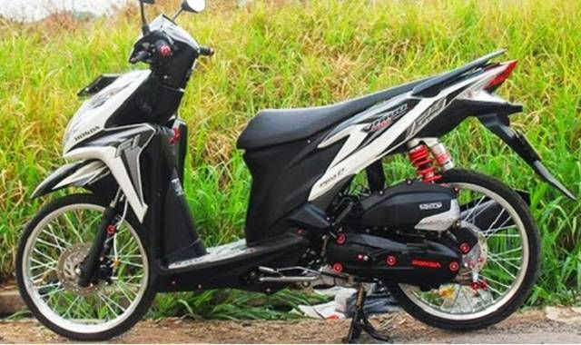 Modifikasi Motor Vario 125 Warna Putih Motor Warna Indonesia