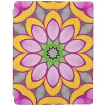 A multicolored flower pattern in the color green, pink and yellow. This give it a trendy and modern looks. You can also Customized it to get a more personally looks. #colorful #trendy #modern #decorative #abstract #abstract-pattern #stylish #colorful-flower #flower #trendy-flower