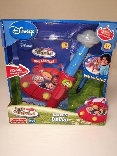 disney little einstein u0026 39 s leo u0026 39 s musical conductor toy wand baton brand new in box  disney