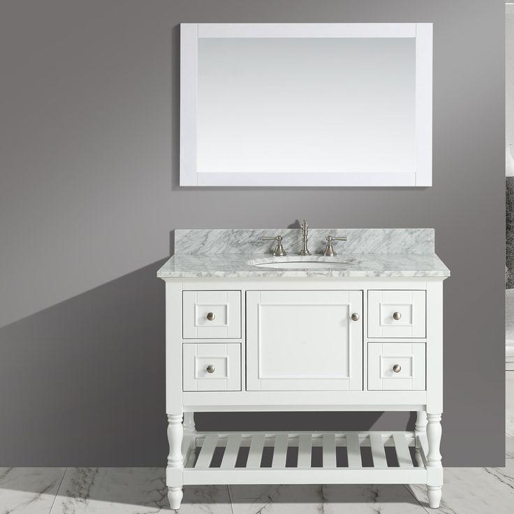 Bathroom Mirror And Vanity Set 130 best bathroom vanities images on pinterest | bathroom vanities