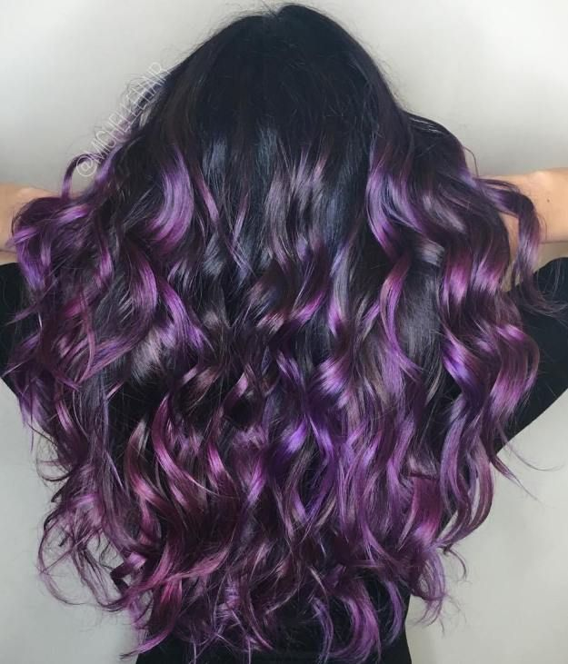The 25 best purple highlights ideas on pinterest brown hair 40 versatile ideas of purple highlights for blonde brown and red hair pmusecretfo Image collections