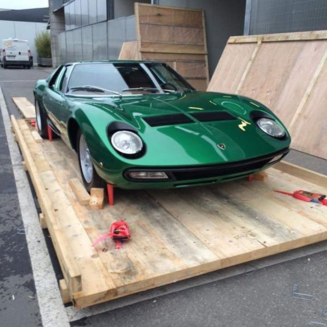 Ordinaire Lamborghini Miura SV. The First Lamborghini Restored By The New Department  Of Restorations Of The