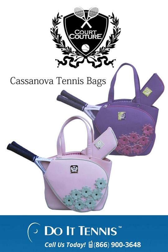 Court Couture Cassanova Tennis Bags - $259.99 at doittennis.com #TennisFashion