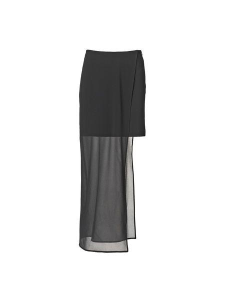 Skirt with Chiffon Layer | Maikel Tawadros  Shop at leneublack.com