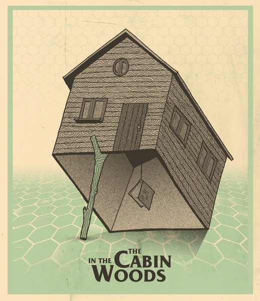 The Cabin In The Woods | #movieposter #minimalist #graphicdesign