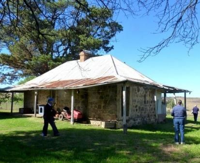 "Heritage listed ""Belconon"" homestead built by Charles Campbell in 1850."