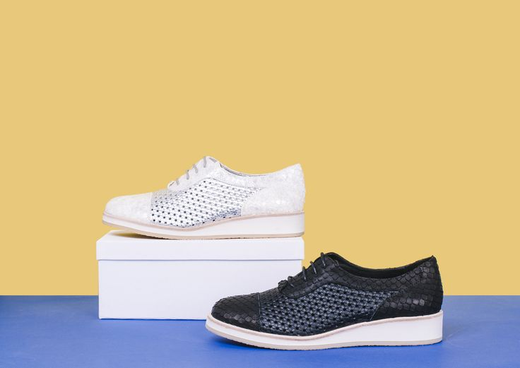 CEDRIC by DJANGO AND JULIETTE. Perfect summer lace ups. Texture is everything this season and these shoes have it all! The flatform foam base offers great comfort and durability for all day, every day wear. 3 cm heel height, leather upper, leather lining, manmade sole.