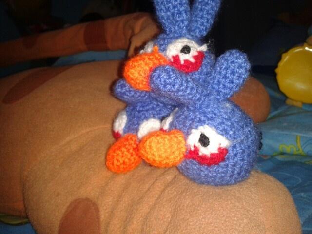 Amigo azul, como le dice Kike a angry birds azul.