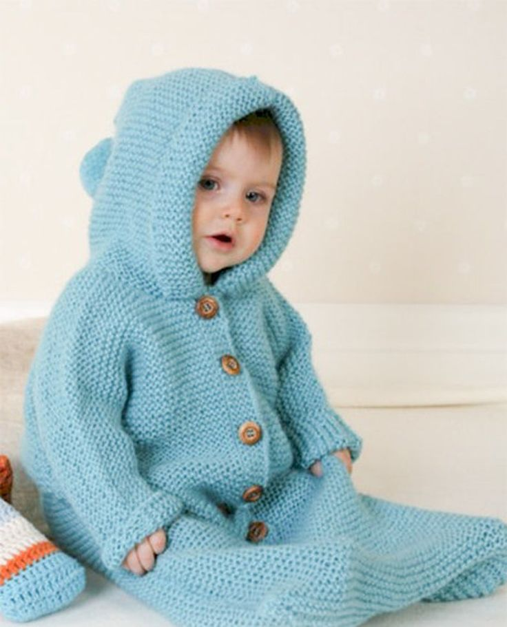 Knitting Pattern Baby Sleeping Bag Cocoon Sleep Sack ...
