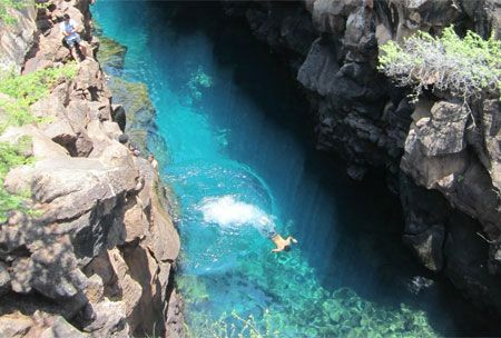 Las Grietas, Galapagos Islands, Ecuador | 10 natural swimming pools