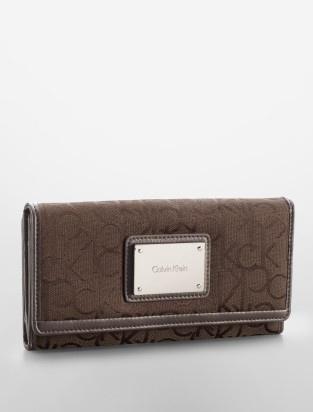 logo jacquard print mega wallet handbags small goods calvin klein shopping list. Black Bedroom Furniture Sets. Home Design Ideas